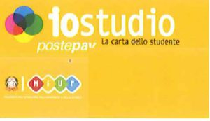 CARTA IOSTUDIO, LA CARTA DELLO STUDENTE